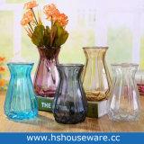 De gekleurde Vazen van het Glas van het Huis Decoratieve
