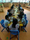 쉽게 조립된 아이들 유아원 테이블 및 의자