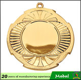 Ribbon를 가진 가장 새로운 Customized Souvenir 3D Blank Metal Medal