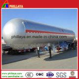 3半車軸45000L燃料のタンカーのトレーラー