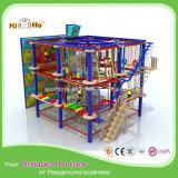 Patio plástico de la aptitud de la Muti-Función del marco que sube de la cuerda al aire libre de los niños