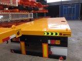 Tri flacher Plattform-halb Schlussteil der Wellen-40ft mit Behälter-Verschlüssen