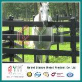 De hete Ondergedompelde Gegalvaniseerde Comités van de Omheining van het Staal van de Omheining van het Paard Op zwaar werk berekende