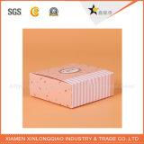 Подгонянная коробка упаковки бумаги искусствоа конструкции горячая штемпелюя