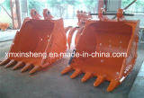 Cubeta da escavadora/cubeta da máquina escavadora para Caterpliiar/peças de KOMATSU/Hitachi/Kobelco/Kato/Hyundai/Deawoo