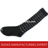 Calzino del ginocchio del cotone del pettine di modo delle donne alto (UBM1030)