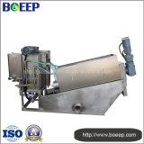Sistema d'asciugamento di trattamento di acqua di scarico del fango mobile della pressa a elica