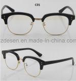 Glazen van de Lezing van Eyewear van de Acetaat van de Rand van de douane de Nieuwste Volledige Stevige