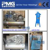 Estiramiento de la botella de plástico semiautomática máquina de moldeo por soplado