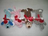ロープの飼い犬のおもちゃの綿プラシ天犬のおもちゃ