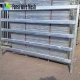 Painéis usados da cerca do Stockyard do gado/rebanhos animais (5 trilhos, 6 trilhos, 7 trilhos)