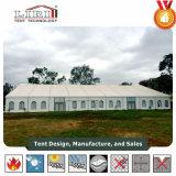 屋根の張力党テント2000人のための40 x 40mの最も高いピークの玄関ひさしのテント教会テント