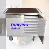 Carrello di consegna dell'alimento dell'ospedale dell'acciaio inossidabile Thr-FC005