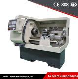 Precisão de alta velocidade Cama Plana Tornos CNC (CK6432A)