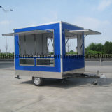 Передвижные тележки для сбывания, передвижной трейлер Jy-B19 еды доставки с обслуживанием