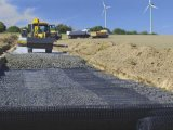 Низкая цена 45X45кн/м пластиковые Biaxial Geogrid для железнодорожного узла окантовки