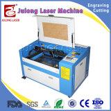 50W Machine van de Gravure van de Laser van Co2 de Mini om Roterende het Gebruik van de Flessen van het Glas Te graveren
