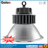 110lm/W Voyants pilote Meanwell 100 Watts 100W LED High Bay Luminaire montage