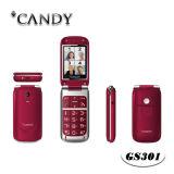 OEM / ODM de ancianos móvil SIM del estilo del tirón del teléfono