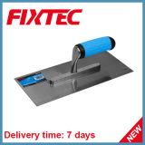 Trowel intonacante del acciaio al carbonio di Fixtec con la maniglia di plastica della pinsa molle