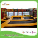 Trampoline popular do cabo de tirante com mola do projeto para Gyms e centros