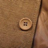 Xiaolv88 мужчин Блейзер куртка рубчатый вельвет повседневный бизнес-Sport покрыть Smart официальный ужин хлопка куртка Slim Установите паз петличный Outwear