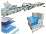 Material polipropileno PP máquina de hacer la hoja de cartón ondulado