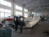 Os barcos de pesca
