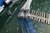 Gpon 1*8 PLC Splitter de fibra óptica el tubo de acero de 0,9 mm G657A con conectores SC/UPC