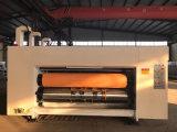 2개의 색깔 사슬 지류에 의하여 주름을 잡은 인쇄는 절단기를 정지한다
