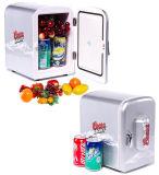 Mini refrigerador termelétrico 4liter DC12V, AC100-240V para refrigeração e aquecimento