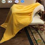 Sherpaの曖昧な羊毛暖かい毛布の中国広州の製造者