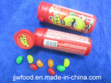 OEM Colorful Tube Embalagem Jelly Bean Candy