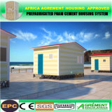 Дом контейнера легкого пляжа агрегата Prefab двухшпиндельного малюсенькая с солнечным