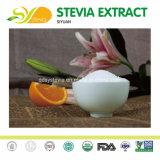 FDAは自然な甘味料のSteviosideのSteviaのエキスラジウム98%を渡す