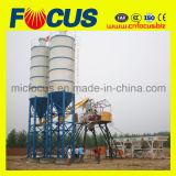 ISO9001 konkrete stapelweise verarbeitende Pflanze Hzs50 der Produktivität-50m3/H