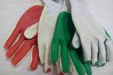 Los guantes gruesos de goma revestidos con guante de construcción Seguridad en el Trabajo