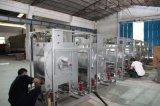 Volle Zeile Waschmaschinen verwendet in waschender Fabrik