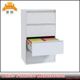 Gabinetes de armazenamento laterais de aço Lockable do arquivamento da espessura 0.8mm de Jas-003-4D para o escritório