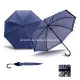 Customized Nylon Manual Open Wooden Handle Straight Golf Umbrella