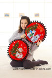 Фаршированные мягкие подушки рождественские украшения