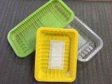 Контейнер еды дешевого качества еды Biodegradable устранимый пластичный с пусковой площадкой вещество-поглотителя мяса