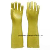 Водонепроницаемый длинной втулки резиновой защиты ПВХ перчатки
