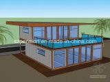 Peison che piega villa prefabbricata/prefabbricata mobile della Camera per l'attrazione turistica