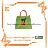 高品質の方法猫デザインフェルト袋