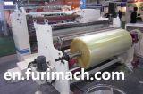 Papier de la bobine Fr-218 et feuille de plastique fendant et machine de rebobinage