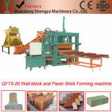 Qt5-20 béton hydraulique de la fabrication de briques Liste de Prix de la machine