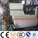 papel higiénico de papel de reciclaje del tejido del rodillo enorme del tejido de 1880m m que hace la máquina