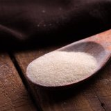 Essbare Gelatine als Lebensmittel-Zusatzstoff