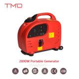 Generador máximo del inversor de la potencia de la tarifa 2.0kw 1.8kw de seno del movimiento del Portable 4 de la gasolina pura de la onda